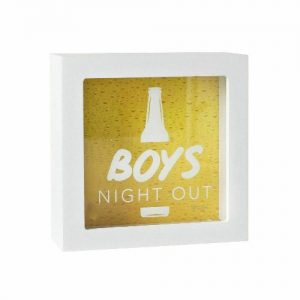 Boys Night Out Money Box
