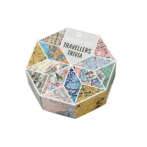 Travellers Trivia Card Game