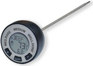 Man Law Digital BBQ Instant Read Meat Gauge