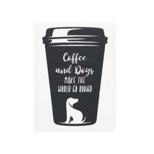 Coffee and Dogs Magnet