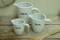Ceramic Measuring Jug, 1 litre