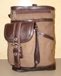 Hanpu Koubou Brown Cross Body Bag - front view
