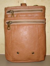 Hanpu Koubou Tan Cross Body Bag - front view