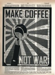 Vintage Dictionary Print - Make Coffee