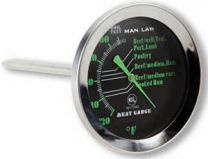 MAN LAW Meat Gauge with Glow in the Dark Dial
