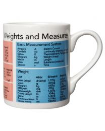 Mug, Weights and Measures