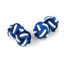 Wurkin Stiffs Knotz Cufflinks, Racing Stripes