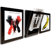 Art Vinyl Flip Frame Record Frame (triple pack)