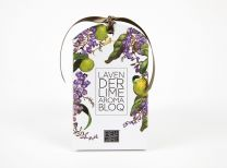 Bell Art Lavender and Lime Bloq - front