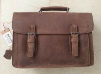 Boheme Messenger Leather Satchel