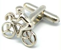 Cufflinks, Cyclist close-up
