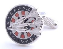 Cufflinks, Dartboard close-up