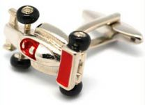 Cufflinks, Race Car close-up