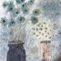 Flowers At Night by Hannah Hann