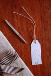 Gift Tag with Seeds