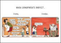 Greeting Card - Grandparents Babysit (FREE DELIVERY)