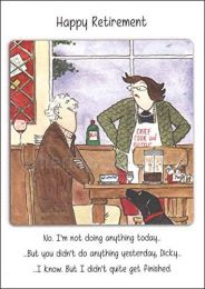 Greeting Card - Not Doing Anything Today Retirement (FREE DELIVERY)
