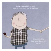 Greeting Card - Nursing Home Dad (FREE DELIVERY)