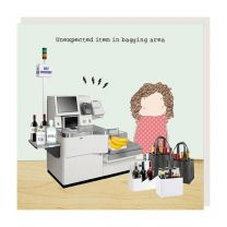 Greeting Card - Bagging Area (FREE DELIVERY)