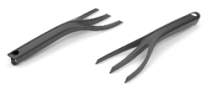 PASTEL™ Hand Fork in Graphite