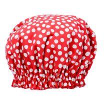 Shower Cap - Red Spot