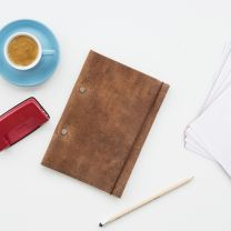 Suck UK Create Your Own Notebook (leather)