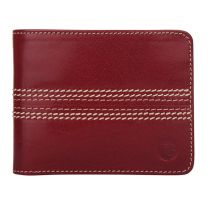 The Game Cricket Wallet in cherry red