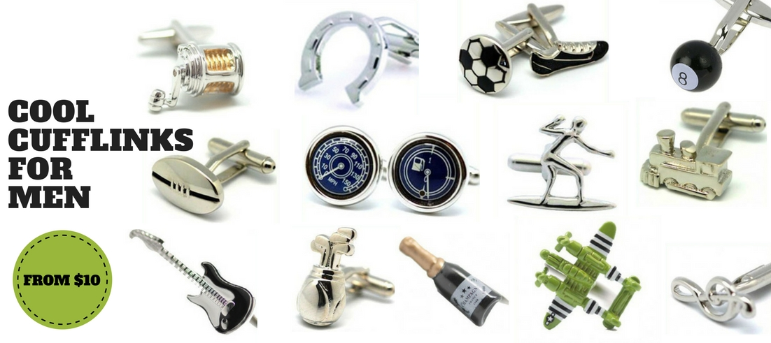 Cool Cufflinks for Men