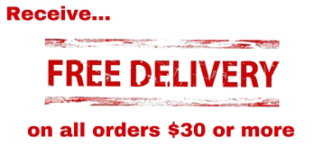Free Delivery on orders over $30