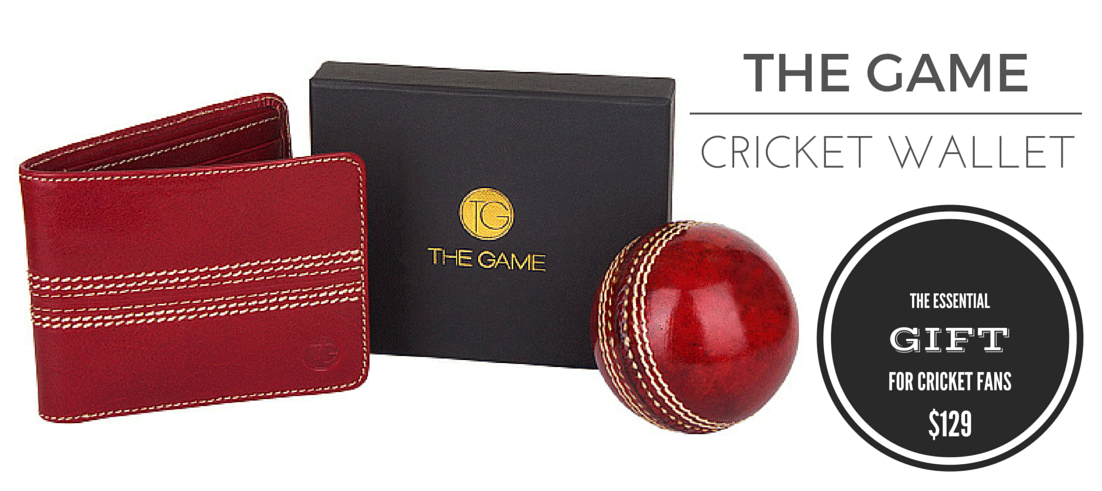 The Game Cricket Wallet