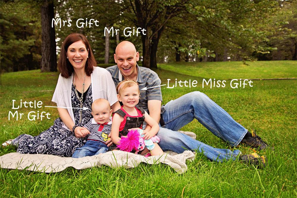 Mr Gift Family